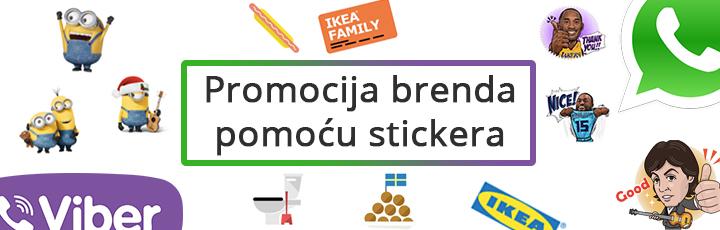 Promocija brenda pomoću stickera: Što su stickeri i zašto se koriste (DIO I.)