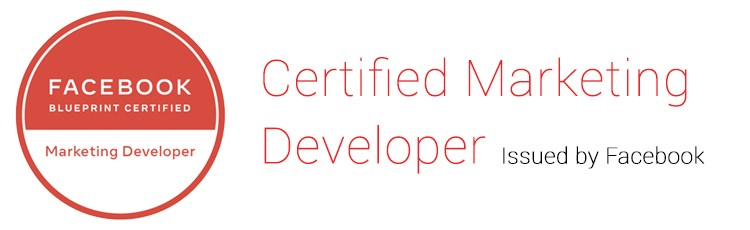Stekli smo novi Facebook Certified Marketing Developer certifikat!