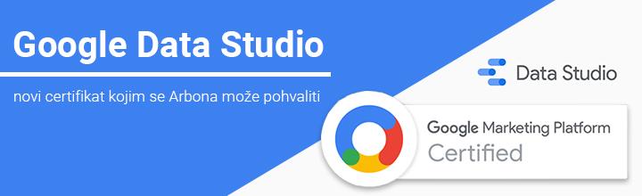 Arbonini stručnjaci zavrijedili još jedan certifikat - Google Data Studio