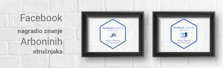Facebook nagradio rad Arboninih stručnjaka Blueprint certifikatima