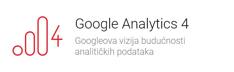 Google Analytics 4 - upoznajte Googleovu viziju budućnosti analitičkih podataka
