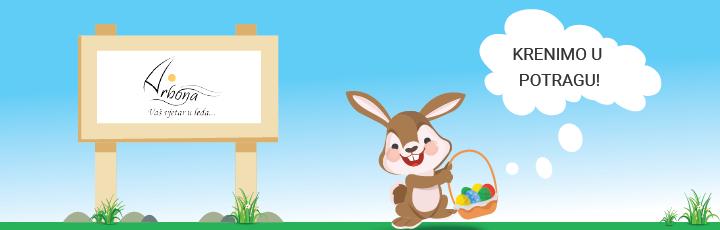Uskrsni zeko darove daje, newsletter savjete stavlja u svako jaje!