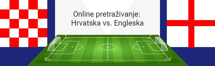Svjetsko nogometno prvenstvo - Hrvatska vs. Engleska! Tko će koga online?