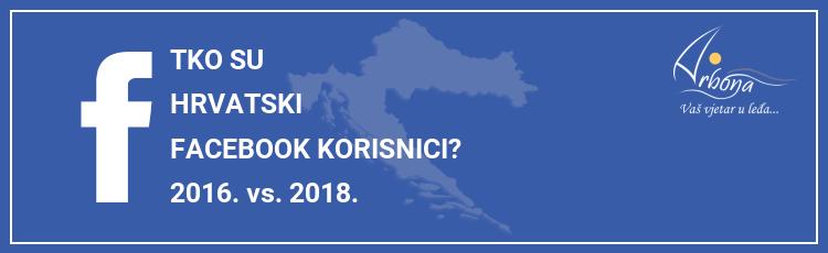 INFOGRAFIKA: Tko su hrvatski Facebook korisnici? [2016. vs. 2018.]