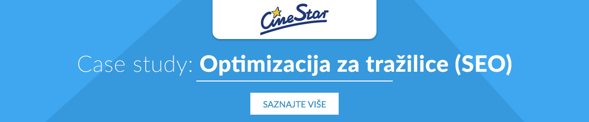Case study optimizacija za tražiice: Cinestar i Arbona