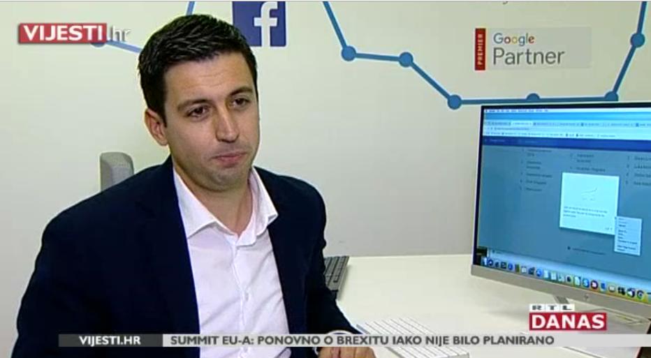Sandro Lazarić, Arbona u RTL Danas priča o najpopularnijim online pretraživanjima u Hrvatskoj