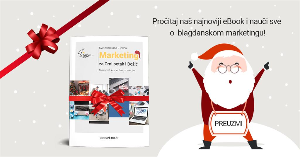 Blagdanski marketing ebook Arbona