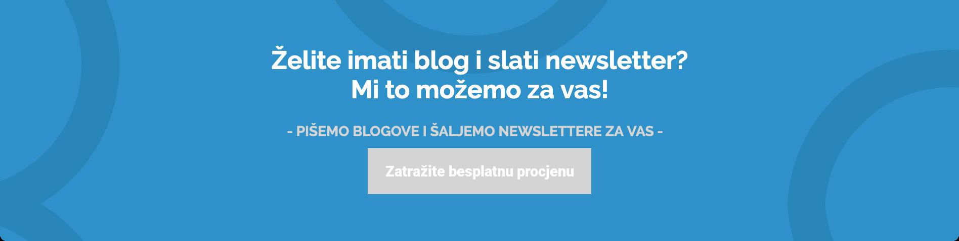 Arbona content ponuda za pisanje blogova i slanje newslettera