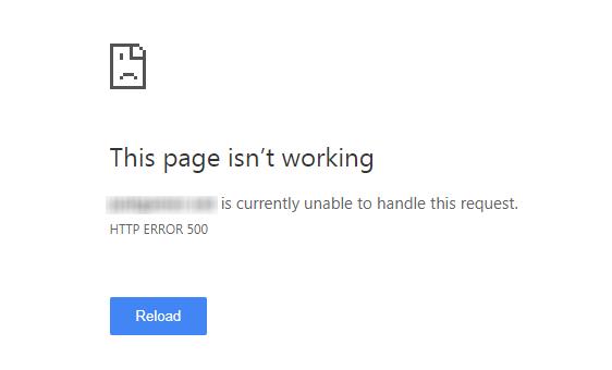 Pogreške poslužitelja Google Search Console