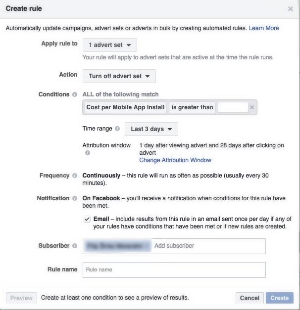 Facebook Automated Rules Hrvatska 2