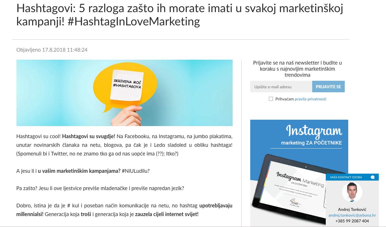 Blog Arbona