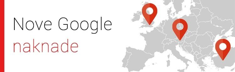Google uvodi novost - naknade za oglase u UK, Turskoj i Austriji