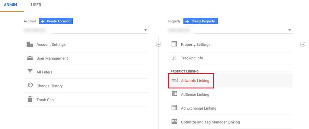 Povezivanje AdWords računa s Google Analyticsom