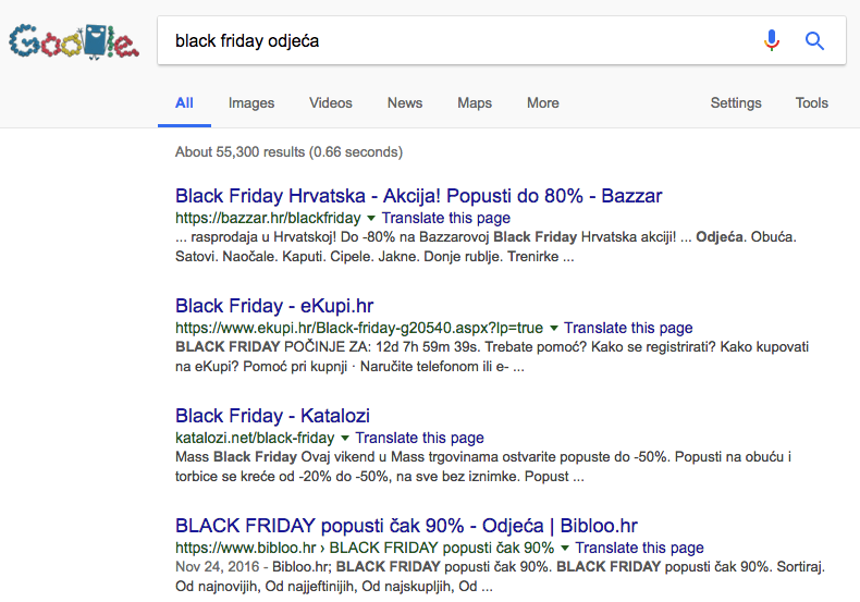 Arbona blog: Black Friday SEO