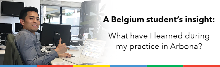 A Belgium student's insight: What have I learned during my practice in Arbona?