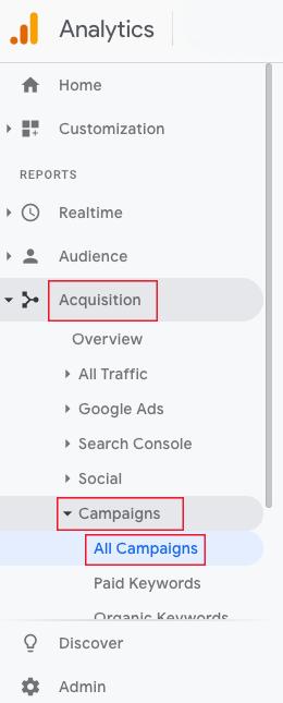 Kako vidjeti UTM paremetre u Google Analyticsu
